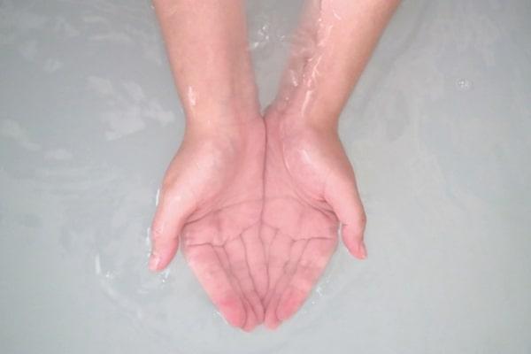 お湯 洗顔 メンズ
