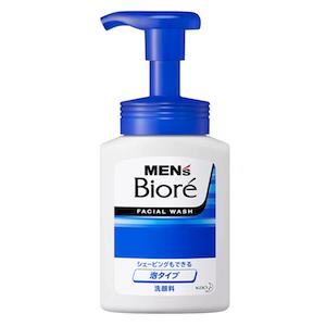 【メンズビオレ】泡タイプ洗顔